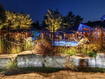 Area Lighting - Yates Landscape Lighting