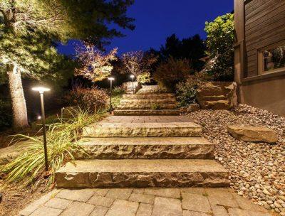 Step Lighting - Yates Landscape Lighting
