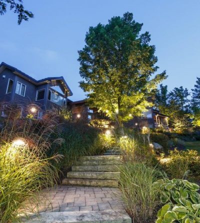 Shadowing Technique for Ottawa Landscape Lighting Company